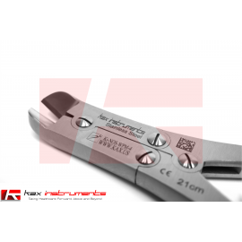 "Pin and Wire Cutter TC 9"" (21cm) Angled, 3mm Maximum Cutting Capacity"