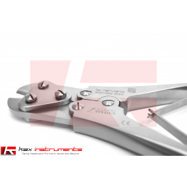 "Strong Plate and Wire Cutter TC 9"" (22.86cm) Overall Length, 2.5mm Maximum Cutting Capacity"