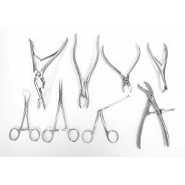 SURGICAL INSTRUMENTS KITS, SETS AND TRAYS